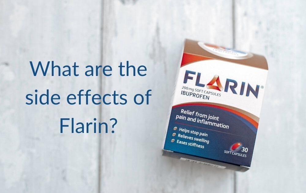 What are the side effects of flarin? | Flarin joint pain relief