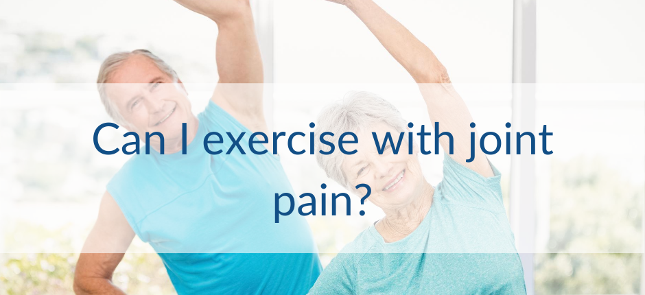Can I exercise with joint pain? Flarin pain relief