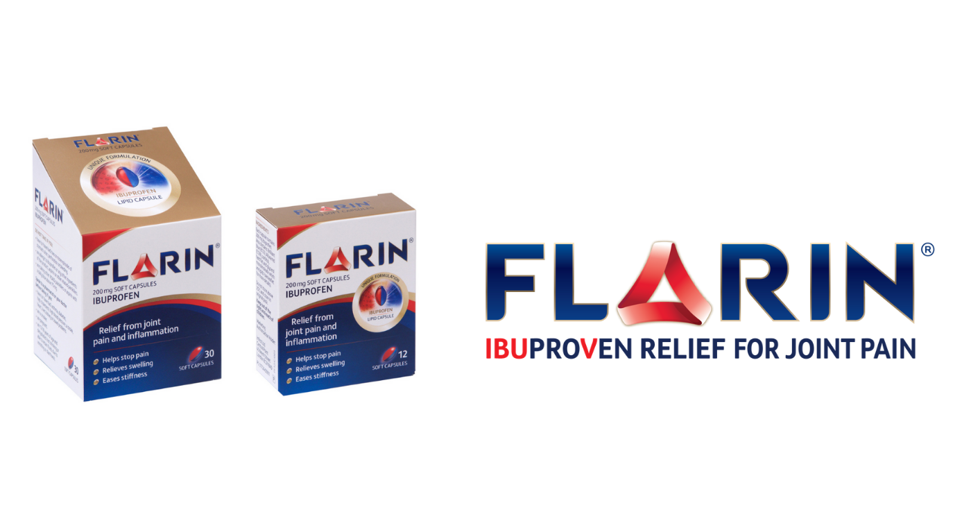Flarin Ibuprofen Relief for Joint Pain